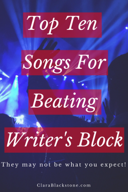Top Ten Songs For Beating Writer's Block
